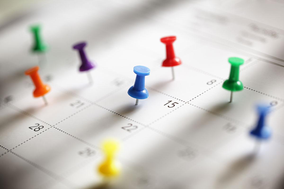 Illustrasjon av kalender